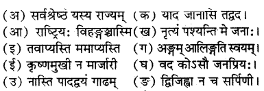 RBSE Solutions for Class 7 Sanskrit रञ्जिनी Chapter 13 प्रहेलिकाः 7