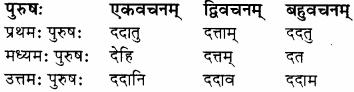 RBSE Solutions for Class 8 Sanskrit रञ्जिनी Chapter 17 धेनुमहिमा - 3