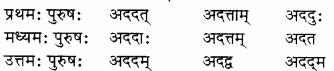 RBSE Solutions for Class 8 Sanskrit रञ्जिनी Chapter 17 धेनुमहिमा - 4