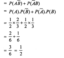 Rajasthan BoardRBSE Class 12 Maths Chapter 16 Probability and Probability Distribution Ex 16.2
