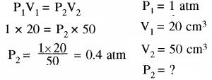 RBSE Solutions for Class 11 Chemistry Chapter 5 द्रव्य की अवस्थाएँ: गैस एवं द्रव img 1