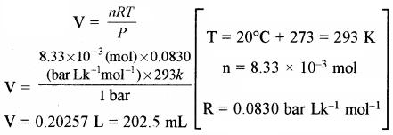 RBSE Solutions for Class 11 Chemistry Chapter 5 द्रव्य की अवस्थाएँ: गैस एवं द्रव img 36