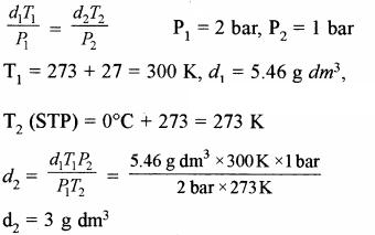 RBSE Solutions for Class 11 Chemistry Chapter 5 द्रव्य की अवस्थाएँ: गैस एवं द्रव img 39