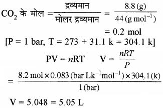 RBSE Solutions for Class 11 Chemistry Chapter 5 द्रव्य की अवस्थाएँ: गैस एवं द्रव img 41