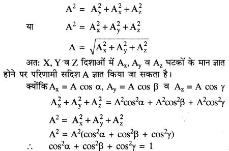 RBSE Solutions for Class 11 Physics Chapter 2 प्रारम्भिक गणितीय संकल्पनायें 15