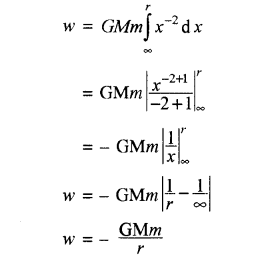 RBSE Solutions for Class 11 Physics Chapter 6 गुरुत्वाकर्षण 18