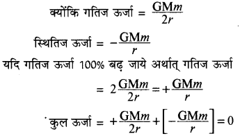 RBSE Solutions for Class 11 Physics Chapter 6 गुरुत्वाकर्षण 2