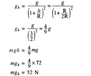 RBSE Solutions for Class 11 Physics Chapter 6 गुरुत्वाकर्षण 28