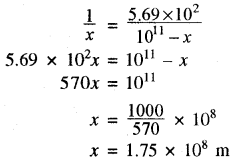 RBSE Solutions for Class 11 Physics Chapter 6 गुरुत्वाकर्षण 34
