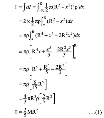RBSE Solutions for Class 11 Physics Chapter 7 दृढ़ पिण्ड गतिकी 43
