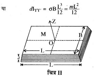 RBSE Solutions for Class 11 Physics Chapter 7 दृढ़ पिण्ड गतिकी 46