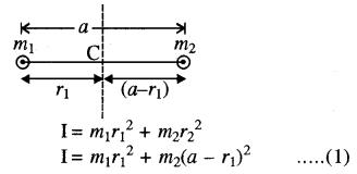 RBSE Solutions for Class 11 Physics Chapter 7 दृढ़ पिण्ड गतिकी 62