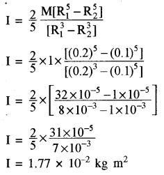 RBSE Solutions for Class 11 Physics Chapter 7 दृढ़ पिण्ड गतिकी 67