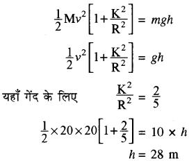 RBSE Solutions for Class 11 Physics Chapter 7 दृढ़ पिण्ड गतिकी 68