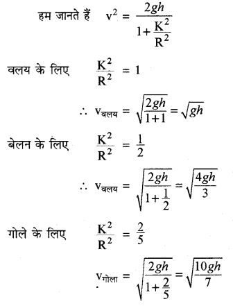 RBSE Solutions for Class 11 Physics Chapter 7 दृढ़ पिण्ड गतिकी 69