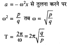 RBSE Solutions for Class 11 Physics Chapter 8 दोलन गति 2