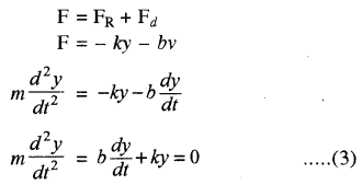 RBSE Solutions for Class 11 Physics Chapter 8 दोलन गति 39