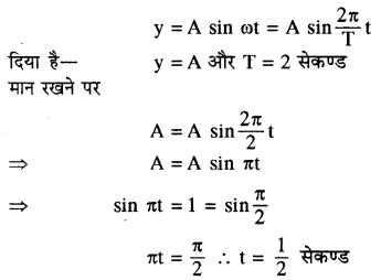 RBSE Solutions for Class 11 Physics Chapter 8 दोलन गति 45