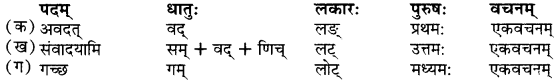 RBSE Solutions for Class 9 Sanskrit सरसा Chapter 5 शश-गजराज कथा 2