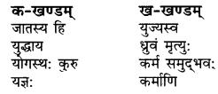 RBSE Solutions for Class 9 Sanskrit सरसा Chapter 6 गीतामृतम् 3