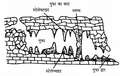 RBSE Solutions for Class 11 Physical Geography Chapter 10 अपरदन के कारक 15