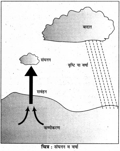 RBSE Solutions for Class 11 Physical Geography Chapter 15 संघनन एवं वर्षा