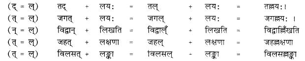 RBSE Class 10 Sanskrit व्याकरणम् सन्धिः image 19
