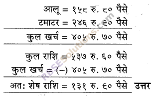 RBSE Solutions for Class 5 Maths Chapter 10 मुद्रा Additional Questions image 7