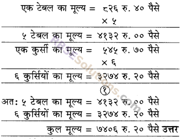 RBSE Solutions for Class 5 Maths Chapter 10 मुद्रा Additional Questions image 8