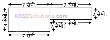 RBSE Solutions for Class 5 Maths Chapter 14 परिमाप एवं क्षेत्रफल Additional Questions image 1