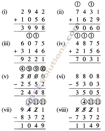 RBSE Solutions for Class 5 Maths Chapter 2 जोड़-घटाव Ex 2.1 image 2