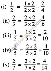 RBSE Solutions for Class 5 Maths Chapter 7 तुल्य भिन्न Ex 7.1 image 1