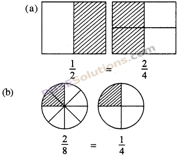 RBSE Solutions for Class 5 Maths Chapter 7 तुल्य भिन्न In Text Exercise 2