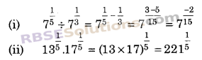 RBSE Solutions for Class 9 Maths Chapter 2 संख्या पद्धति Additional Questions