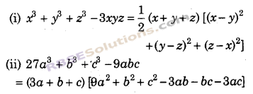 RBSE Solutions for Class 9 Maths Chapter 3 बहुपद Ex 3.5