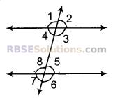 RBSE Solutions for Class 9 Maths Chapter 5 समतल ज्यामिती परिचय एवं रेखाएँ व कोण Miscellaneous Exercise