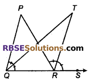 RBSE Solutions for Class 9 Maths Chapter 6 सरल रेखीय आकृतियाँ Ex 6.1