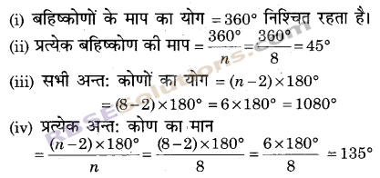 RBSE Solutions for Class 9 Maths Chapter 6 सरल रेखीय आकृतियाँ Ex 6.2