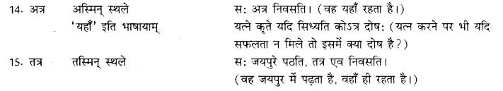RBSE Class 10 Sanskrit व्याकरणम् अव्ययम् image 3
