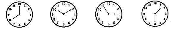 RBSE Class 10 Sanskrit व्याकरणम् घटिका चित्र साहाय्य समय-लेखनम् image 12