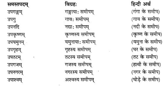 RBSE Class 10 Sanskrit व्याकरणम् समासः image 2