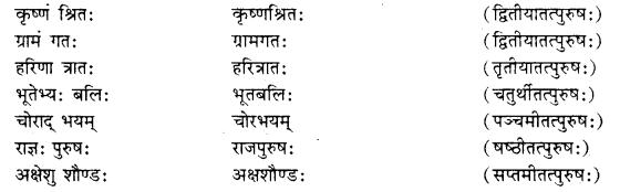 RBSE Class 10 Sanskrit व्याकरणम् समासः image 9