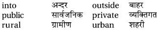 RBSE Class 6 English Vocabulary Antonyms image 15