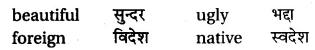 RBSE Class 6 English Vocabulary Antonyms image 27