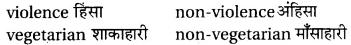RBSE Class 6 English Vocabulary Antonyms image 9