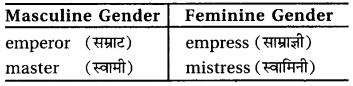 RBSE Class 6 English Vocabulary Gender image 4