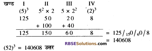 RBSE Solutions for Class 10 Maths Chapter 1 वैदिक गणित Ex 1.2 8