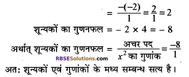 RBSE Solutions for Class 10 Maths Chapter 3 बहुपद Additional Questions 44