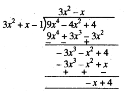 RBSE Solutions for Class 10 Maths Chapter 3 बहुपद Ex 3.2 4