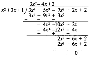 RBSE Solutions for Class 10 Maths Chapter 3 बहुपद Ex 3.2 5